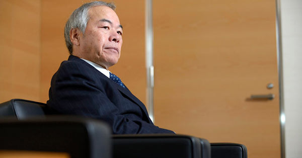 『Tadahito Yamamoto, chairman of Fuji Xerox, in Tokyo in 2012. He was one of four executives whose resignations were announced on Monday. Credit Akio Kon/Bloomberg』